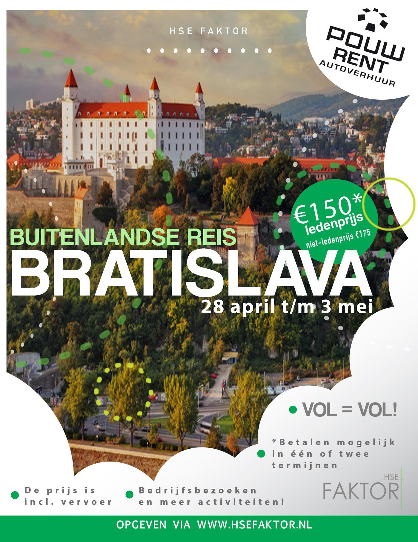 Buitenlandse reis Bratislava